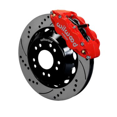 "Wilwood Forged Narrow Superlite 6R Front Brake Kit, 14"" Rotors - 140-15304"