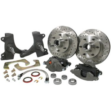 "CPP Modular Spindle Front Brake Kit, 12"" Rotors, 1971-72 C10 - 7172SWBK-5"