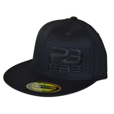 Black Hat, Black Logo - Flat Bill