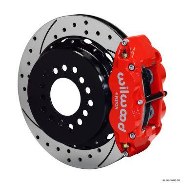 "Wilwood Forged Narrow Superlite 4R Rear Brake Kit, 12.88"" Rotors - 140-10093"