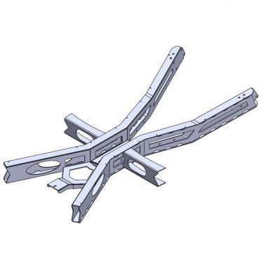 1960-62 Inner Frame Stiffener, 2 Piece Driveshaft