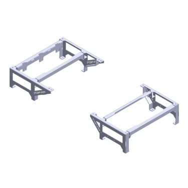 1955-59 Raised Bed Floor Mounts