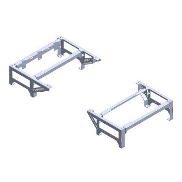 1955-59 Raised Bed Floor Mounts