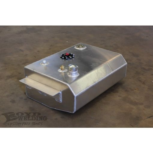 Boyd Aluminum Fuel Tank, Bed Fill, EFI Aeromotive A-1000 Pump - 1963-72 C10